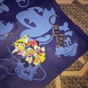 Disney Licensed Key Chains, NWOT